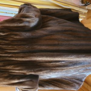 Manteau de fourre en vison