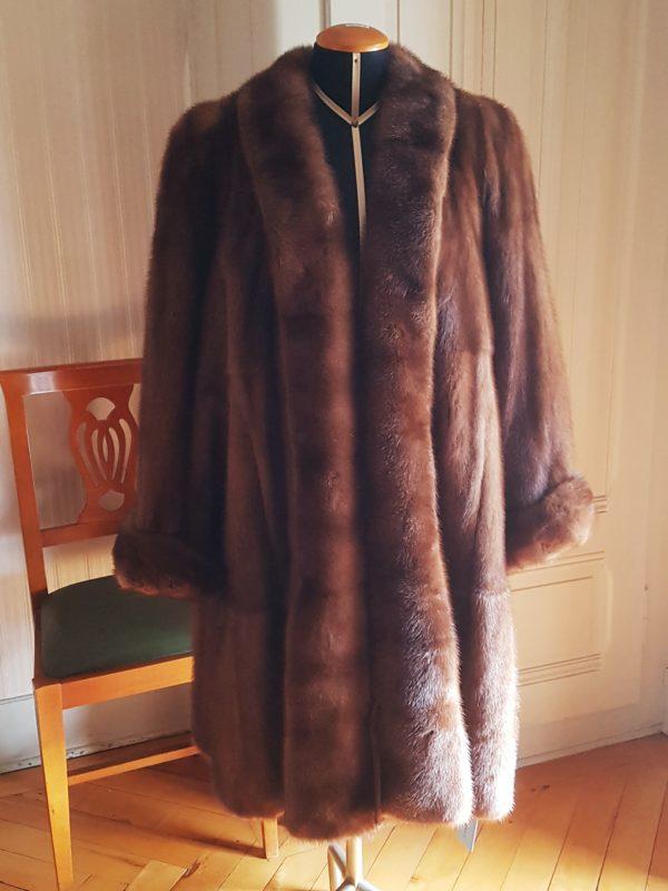 Manteau de fourrure vison