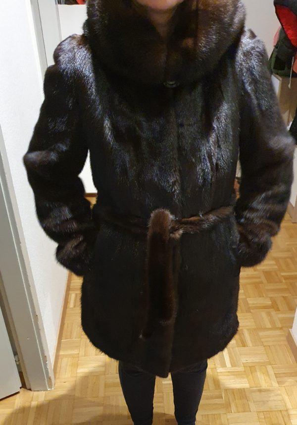 Manteau en fourrure de vison
