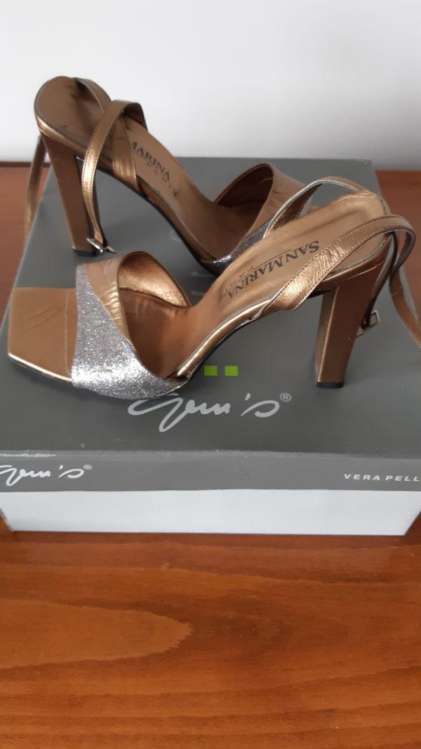 Sandales à talon SANMARINA