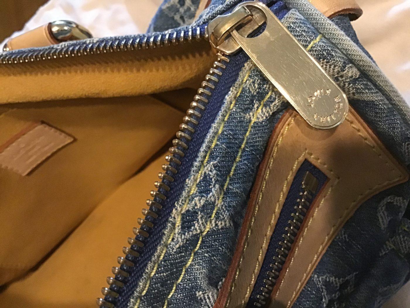 Sac Vuitton Speedy denim - Occasions-Luxe d3c4ab1b06e