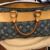 Sac Vuitton Speedy denim