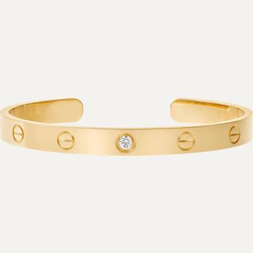 Bracelet Cartier Love Or jaune taille 18