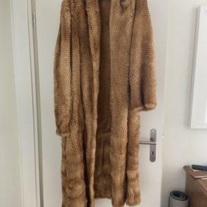 """Manteau vison tricoté """"Sam Rone"""""""
