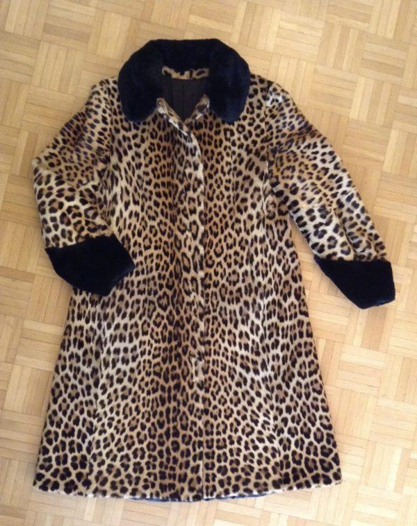 Manteau leopard Revillon