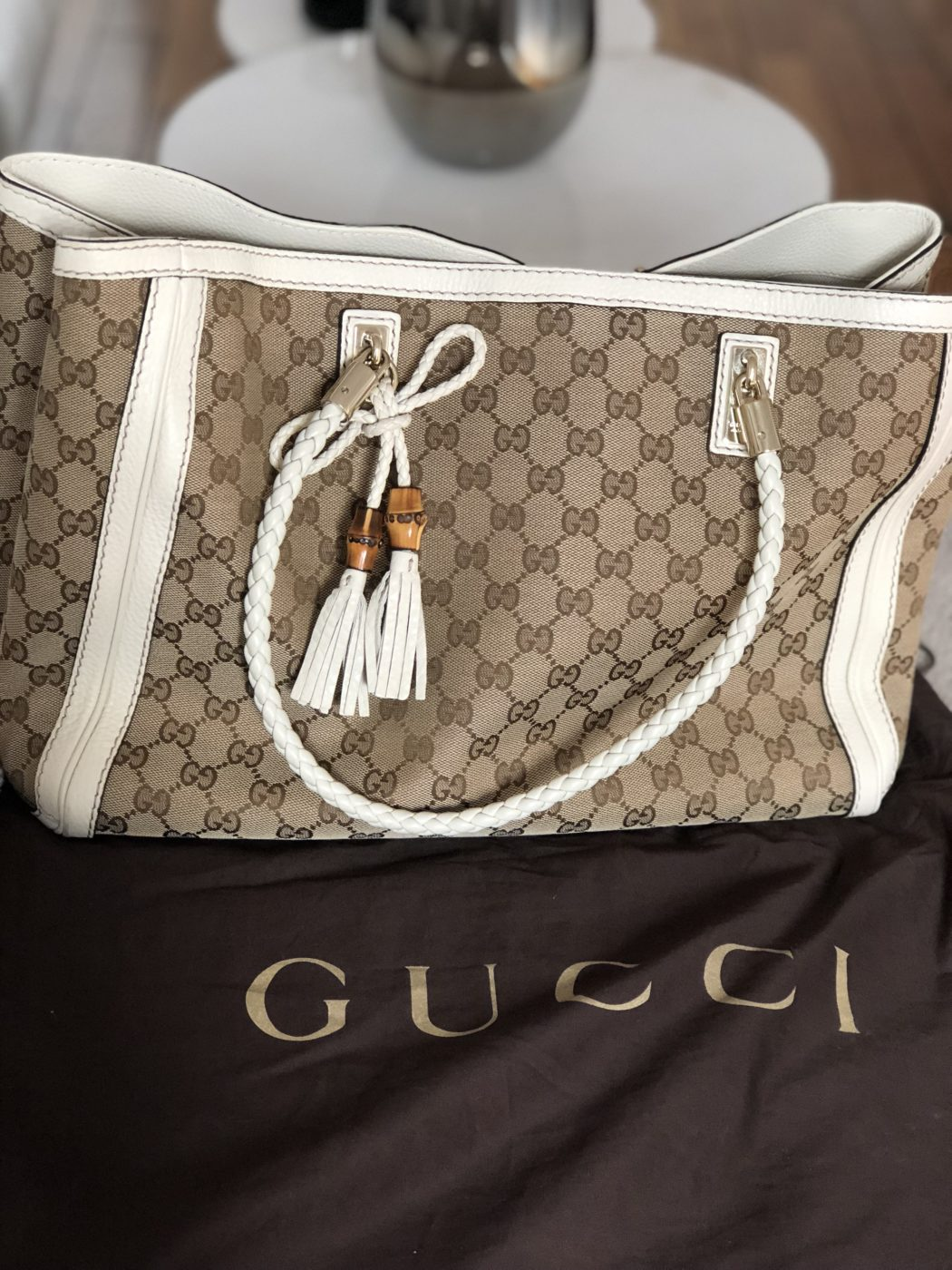 4f8825f9be47 Grand Sac Gucci edition limitée - Occasions-Luxe