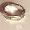 Bague en or gris avec anneau tournant avec diamant, Piaget