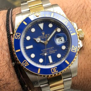 Rolex Submariner Date Steel and Gold Full Set 2012