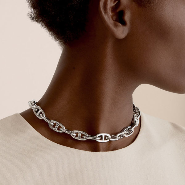 Hermès Collier Chaîne d'Ancre, grand modèle