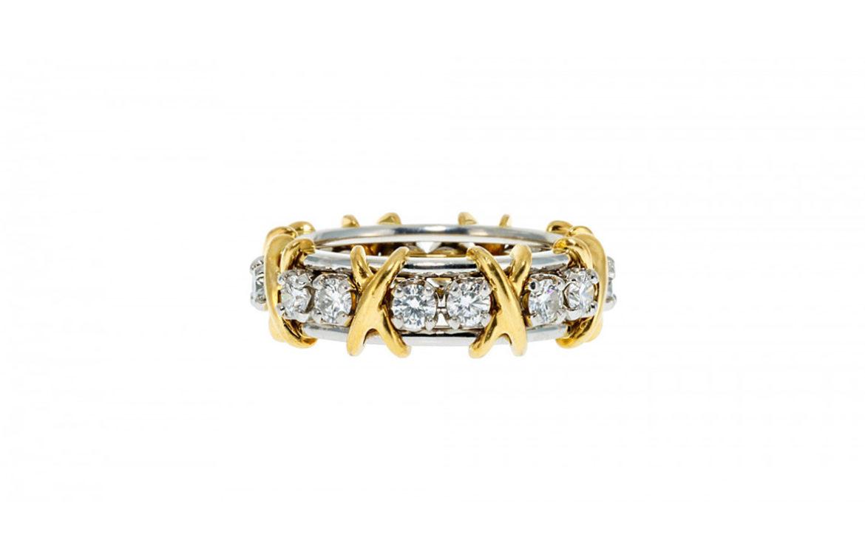 Bague Tiffany - Sixteen stone