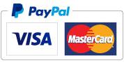 Logo PayPal MasterCard Visa