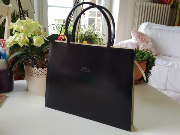 524f2f0c9d Sac Trapèze Fin Occasions Longchamp Bicolore Luxe fy7IbY6gv