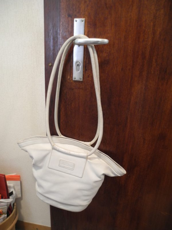 low cost special sales best prices Sac blanc vintage Aigner - Occasions-Luxe