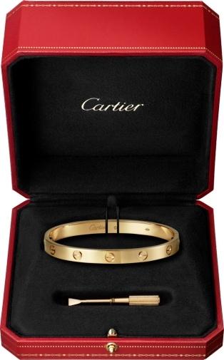 bracelet cartier love occasions luxe. Black Bedroom Furniture Sets. Home Design Ideas